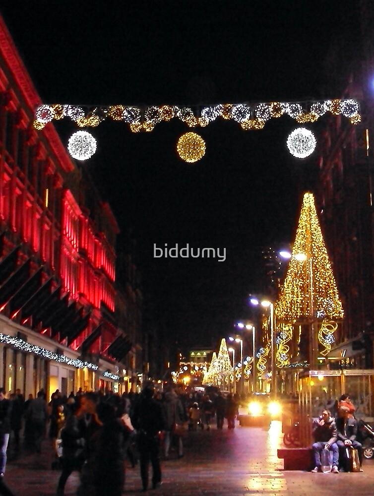 Argyle Street, Glasgow, Xmas 2012 by biddumy
