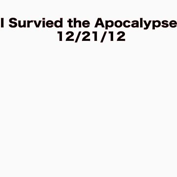 I survived.  by JRPF