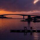 Skye Bridge, Kyle of Lochalsh by Gabor Pozsgai