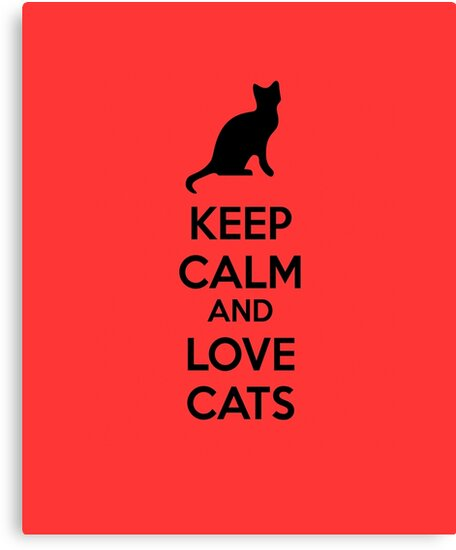 Keep calm and love cats by netza