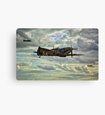 Spitfire Squadron Canvas Print