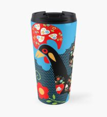 Rooster from Portugal Travel Mug