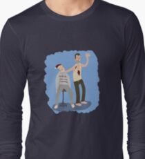 Yippeekiyay Mr. Falcoln Long Sleeve T-Shirt