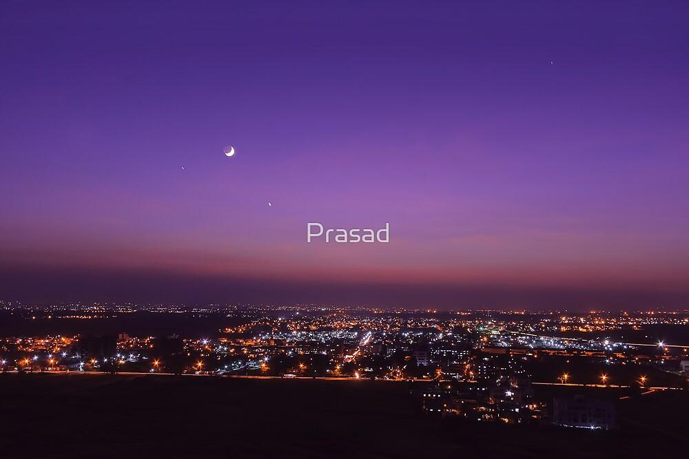 Twilight Moon by Prasad