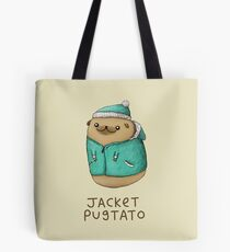 Jacket Pugtato Tote Bag