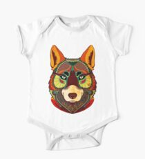 The Wolf Baby Body Kurzarm