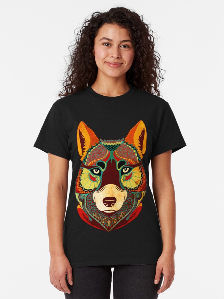 Alternative Ansicht von The Wolf Classic T-Shirt
