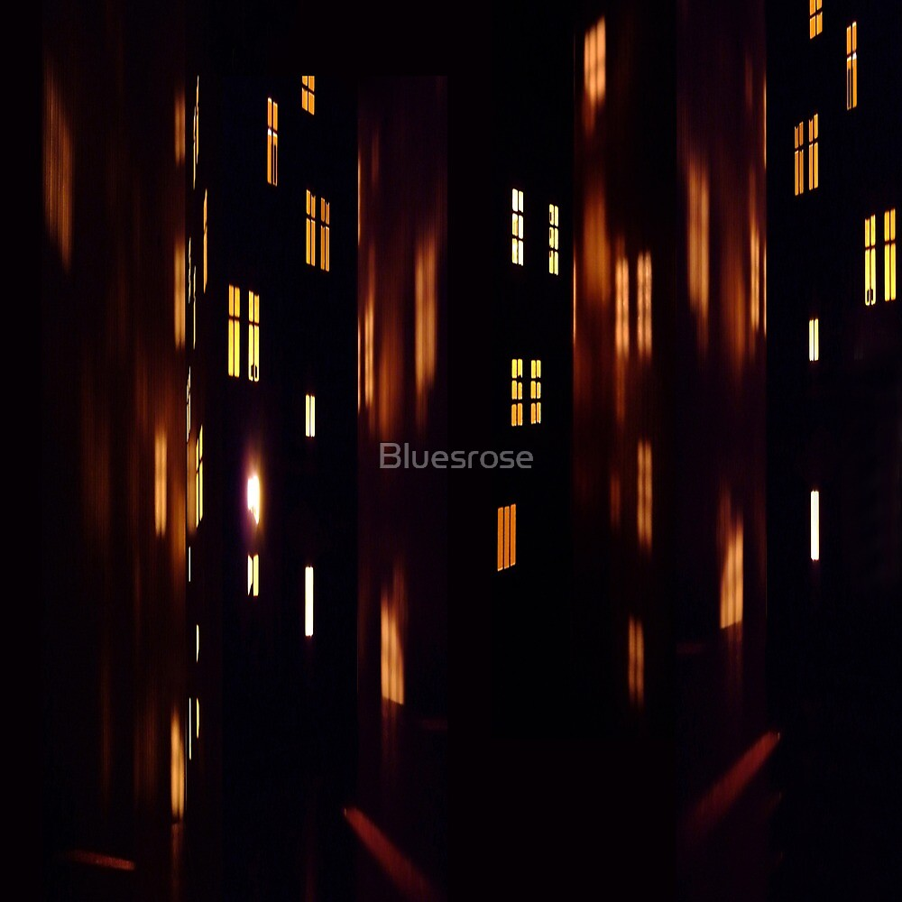Night in the city. II by Bluesrose