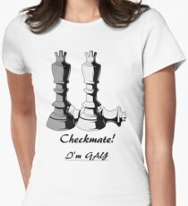 Checkmate! Women's Fitted T-Shirt