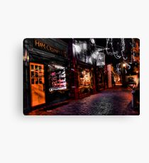 Crumpets and Candy Canvas Print