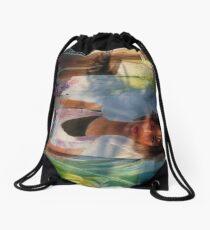 art and artist - arte y artista Drawstring Bag