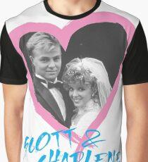 Camiseta gráfica Scott y Charlene para siempre