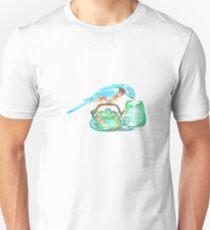 Bluebird with a teapot T-Shirt