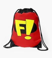 Freakazoid logo Drawstring Bag