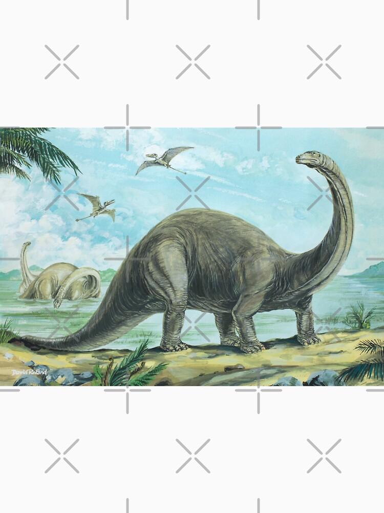 Brontosaurus by lewisroland