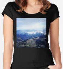 Alpine Affection - Adventure Women's Fitted Scoop T-Shirt