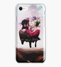 You're a bloody hero Swan iPhone Case/Skin