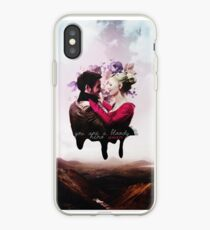You're a bloody hero Swan iPhone Case