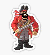 Captain William Trader Jack Sticker