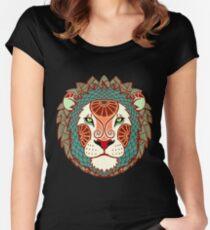 Leo Tailliertes Rundhals-Shirt