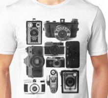 Retro Cameras Unisex T-Shirt