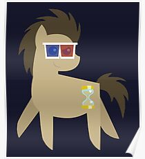 My Little Pony - Dr Hooves BBBFF (Song) Style (With 3D Glasses) Poster