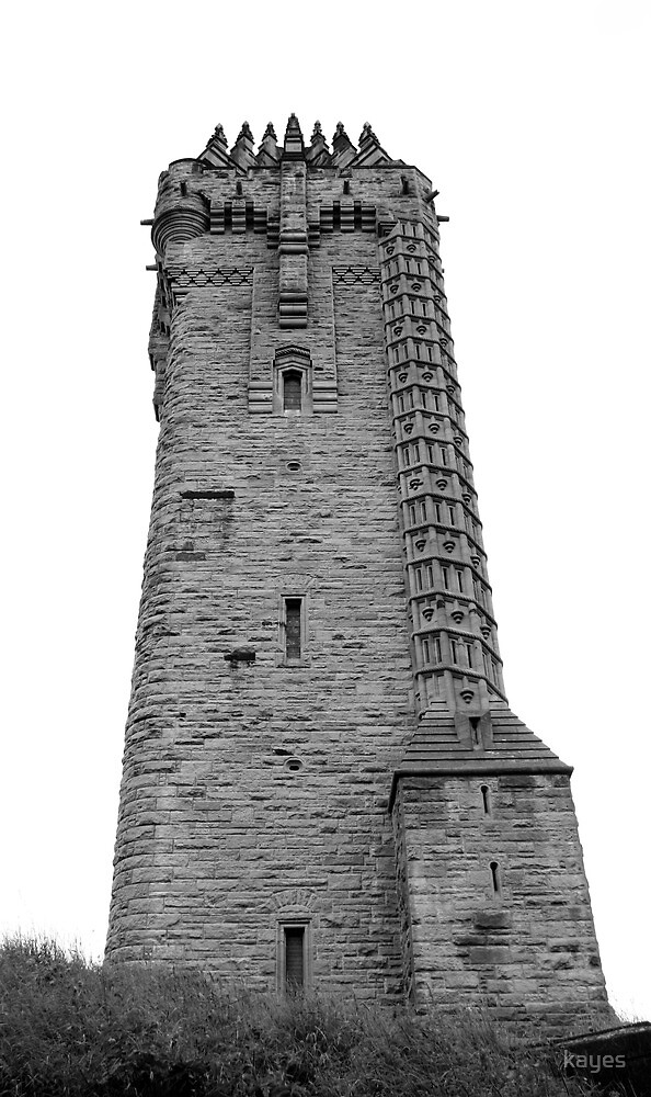 Wallace Monument by Kaye Stewart