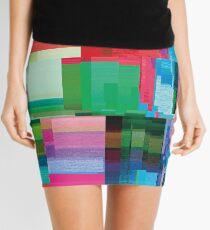 datamoshing 3 Mini Skirt