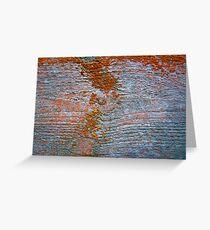 Lichen # 42 Greeting Card
