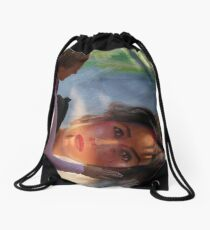 portraits - retratos Drawstring Bag