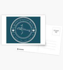 Quarrie's Starfighter Designs Postcards