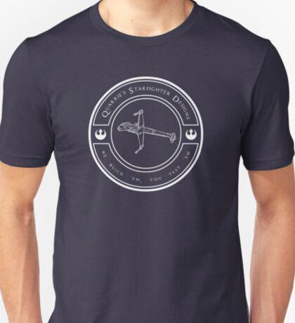 Quarrie's Starfighter Designs T-Shirt