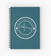 Quarrie's Starfighter Designs Spiral Notebook