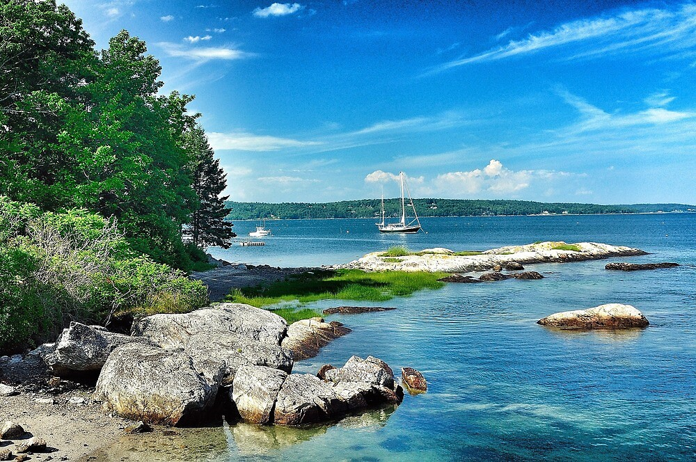 Brooklin, Maine by fauselr