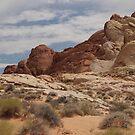Nevada Desert by clizzio