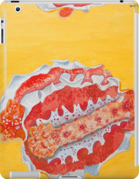 iPad case, iPad cover, iPad deflector. nudibranch by terezadelpilar ~ art & architecture