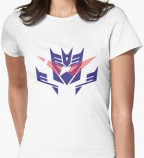 Gurrentron or Deceptilagann Womens Fitted T-Shirt