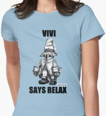 Vivi Says Relax - Sketch em up Women's Fitted T-Shirt