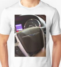 Chrysler Town & Country Limited Steering Wheel and Panel [ Print & iPad / iPod / iPhone Case ] T-Shirt