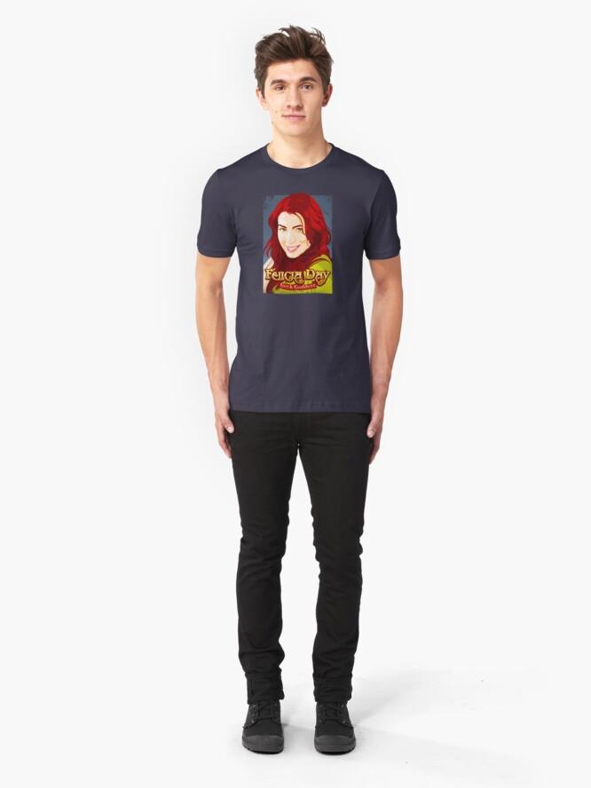 Vista alternativa de Camiseta ajustada Geek Goddess