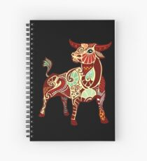 Taurus Spiral Notebook