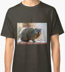 Dassie / Rock hyrax Classic T-Shirt