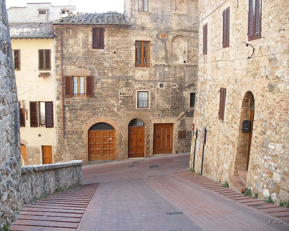 San Gimignano by Fara
