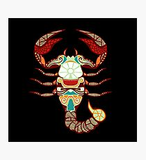 Scorpio Fotodruck
