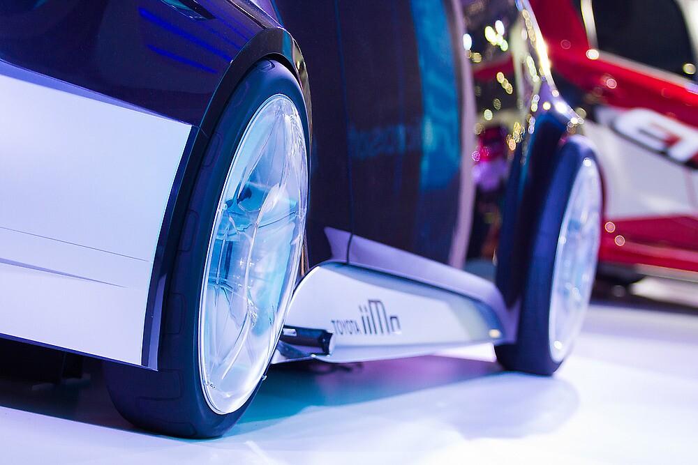 Toyota iiMo Wheels [ Print & iPad / iPod / iPhone Case ] by Mauricio Santana