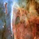 Light and Shadow in the Carina Nebula iPad Case by ipadjohn