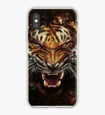 Vinilo o funda para iPhone Tigre Rugido