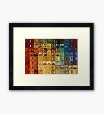 Modern Tile Art #22, 2008 Framed Print