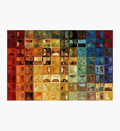 Modern Tile Art #22, 2008 Photographic Print