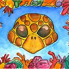 Turtle Mask by DrawingSaudade